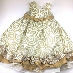 Cherokee Toddler Girls Formal Dress Size 3T